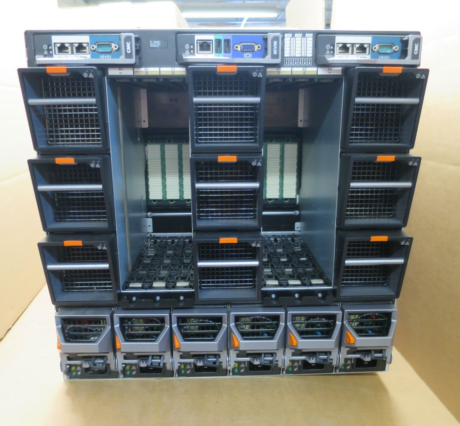 Dell Poweredge M1000e Blade Server Chassis Enclosure With